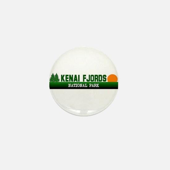 Kenai Fjords National Park Mini Button