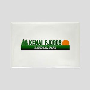 Kenai Fjords National Park Rectangle Magnet