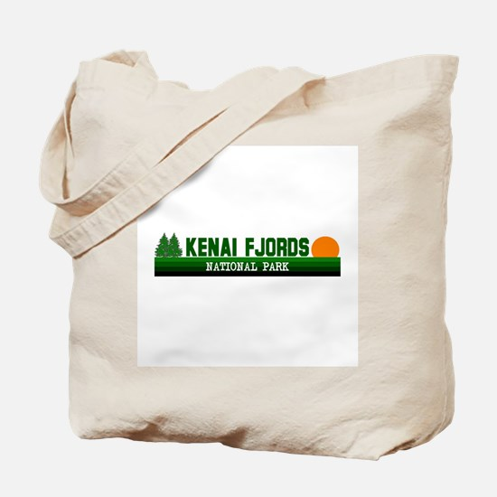 Kenai Fjords National Park Tote Bag