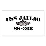 USS JALLAO Sticker (Rectangle)