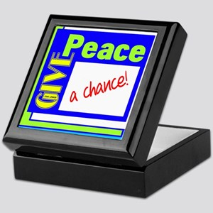 Give Peace A Chance Keepsake Box