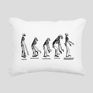 Zoologist Rectangular Canvas Pillow