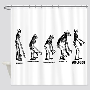 Zoologist Shower Curtain