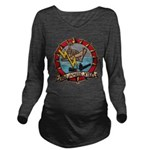USS JAMES E. KYES Long Sleeve Maternity T-Shirt