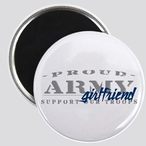 Proud Army Girlfriend (blue) Magnet