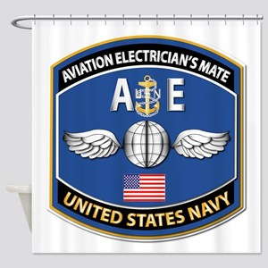 Aviation Electrician's Mate - Nec Shower Curtain
