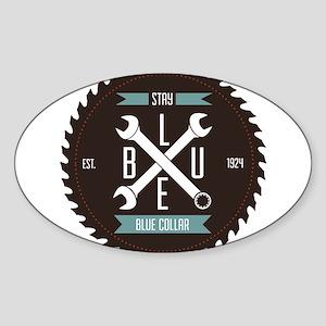 Stay BLUE Collar Sticker