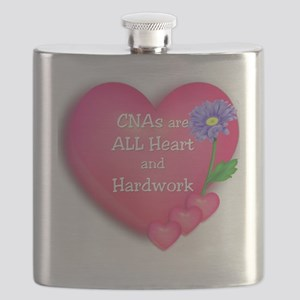 CNA Hearts Flask