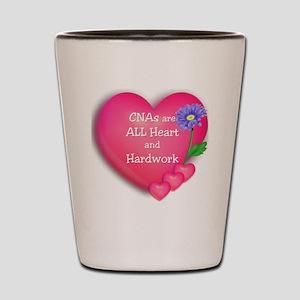 CNA Hearts Shot Glass