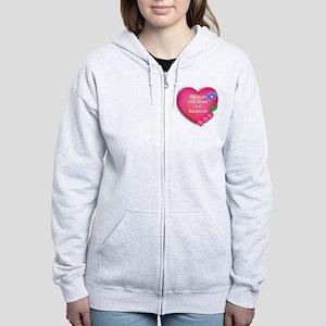 CNA Hearts Women's Zip Hoodie