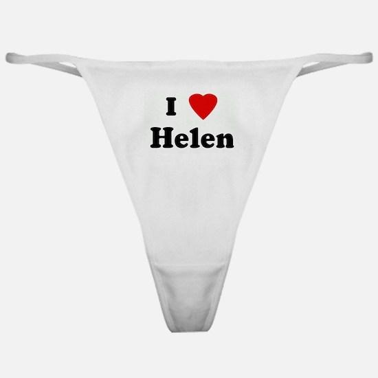 I Love Helen Classic Thong