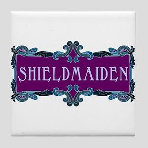 Shieldmaiden Tile Coaster