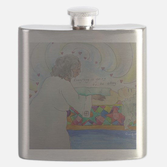"""""""Everything is going to be okay!"""" Flask"""