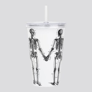 Skeletons Acrylic Double-wall Tumbler