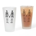 Skeletons Drinking Glass