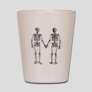 Skeletons Shot Glass