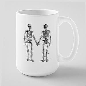 Skeletons 15 oz Ceramic Large Mug