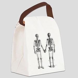 Skeletons Canvas Lunch Bag