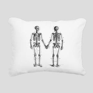 Skeletons Rectangular Canvas Pillow