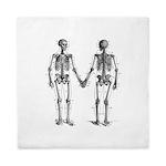 Skeletons Queen Duvet