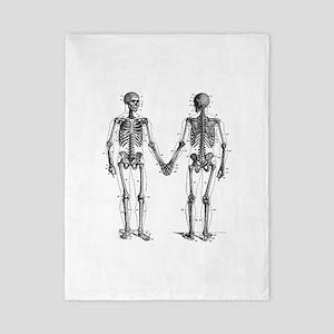 Skeletons Twin Duvet Cover