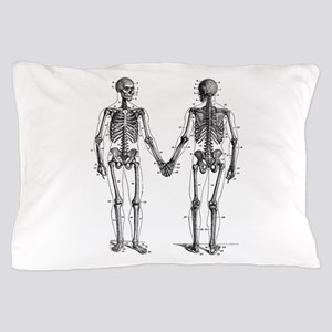 Skeletons Pillow Case