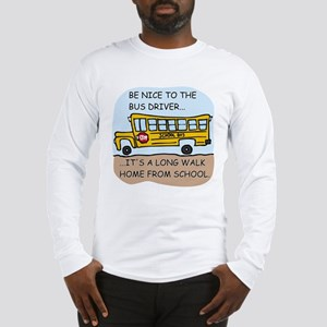 Long Walk Home Long Sleeve T-Shirt