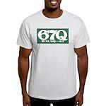 WMAQ Chicago '72 - Light T-Shirt