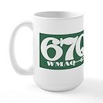 WMAQ Chicago '72 - Large Mug