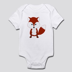 Cute Red Fox Body Suit