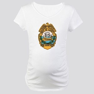 New Hampshire State Police Maternity T-Shirt