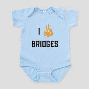 I Burn Bridges Body Suit