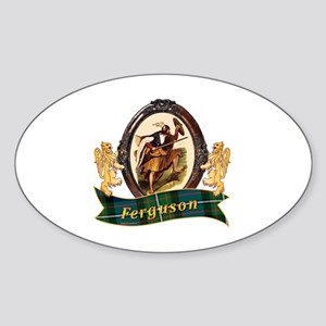 Ferguson Clan Sticker (Oval)