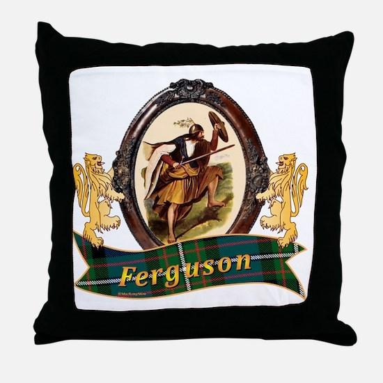 Ferguson Clan Throw Pillow
