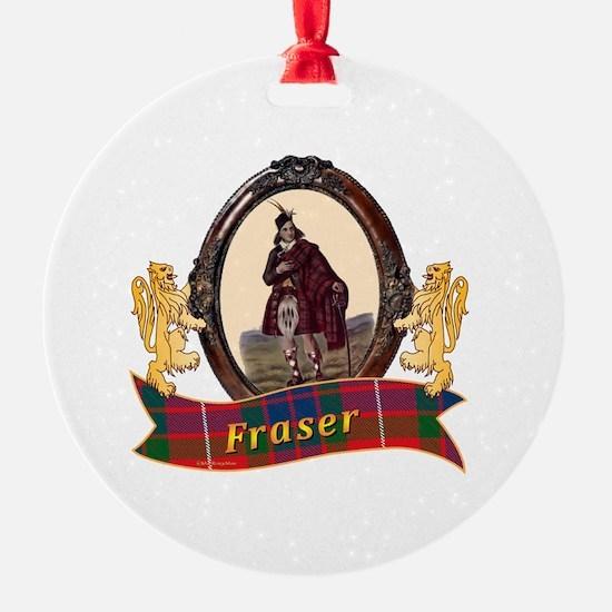 Fraser Clan Ornament