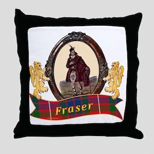 Fraser Clan Throw Pillow