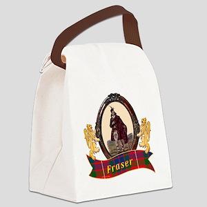Fraser Clan Canvas Lunch Bag