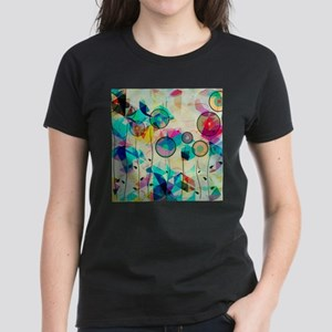 Colorful Abstract Digital Art T-Shirt