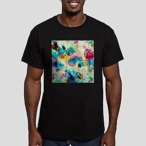 Colorful Abstract Digital Art T-Shirt