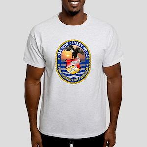 Personalized Uss New Jersey Bb-62 Light T-Shirt