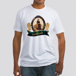 Lamont Clan Fitted T-Shirt