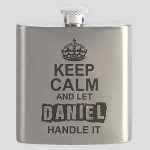 Keep Calm And Let Daniel Handle It Flask