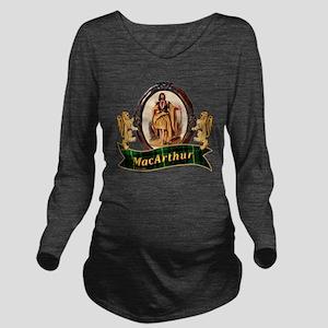 MacArthur Clan Long Sleeve Maternity T-Shirt