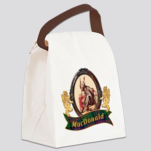 MacDonald Clan Canvas Lunch Bag