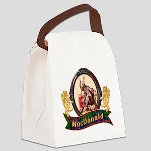 MacDonald Clan Canvas Lunch Bag
