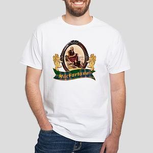 MacFarlane Clan White T-Shirt