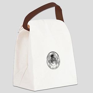 Crystal Diamond Gem Stone Canvas Lunch Bag