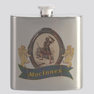 MacInnes Clan Flask