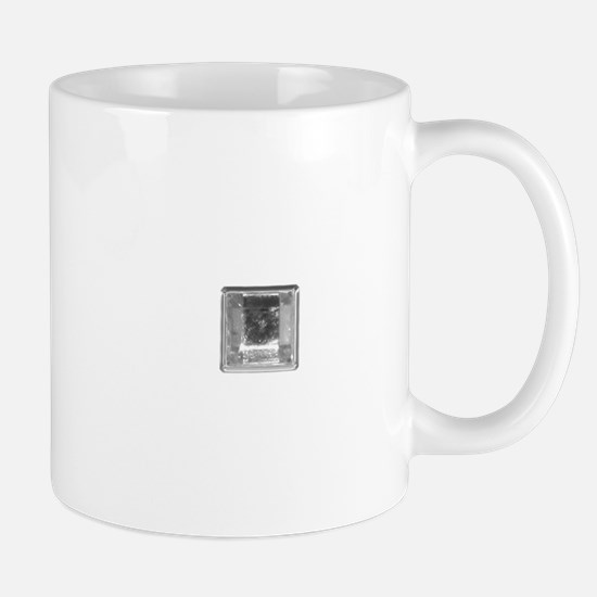 Clear Square Crystal Gen Stone Mugs
