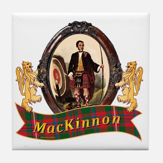 MacKinnon Clan Tile Coaster